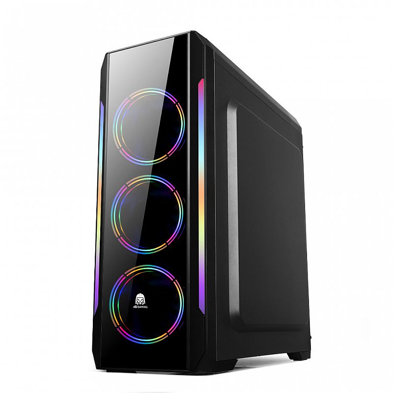 Digital Alliance DA Gaming N23 Tempered Glass Mid Tower Gaming Case